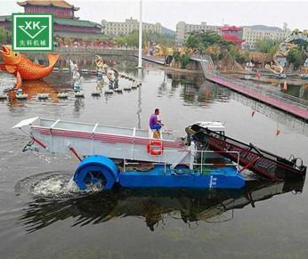 小型割草船
